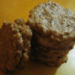 Almond Butter Raisin Cookies (Vegan, Gluten-Free)