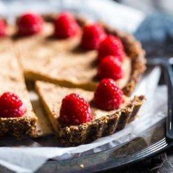 Chocolate, Almond, and Raspberry Tart