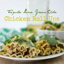 Chicken-Chile Roll-Ups