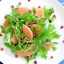 Grapefruit Salad With Pineapple Balsamic Dressing recipe