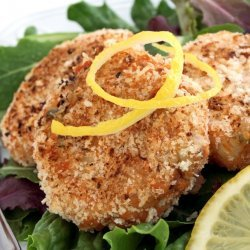 Salmon Cakes With Lime Sauce