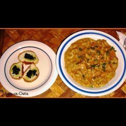 Seafood Pasta Chowder Dinner recipe