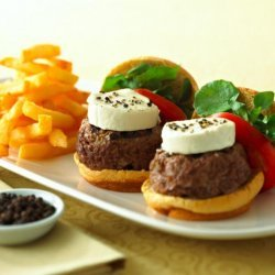 Tellicherry Peppered Chavrie Sliders recipe