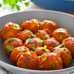 Simple Meatballs - Vegan