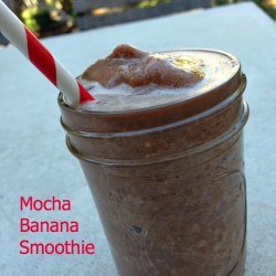 Mocha Banana Smoothie