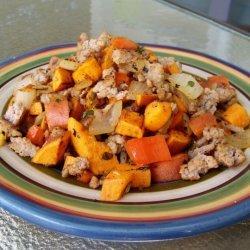Turkey Sweet Potato Hash