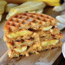 Peanut Butter, Banana and Honey Sandwich