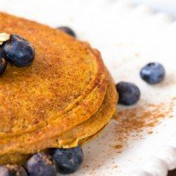Sweet Potato Protein Pancake