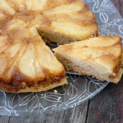 Caramel Pear Upside-Down Cake