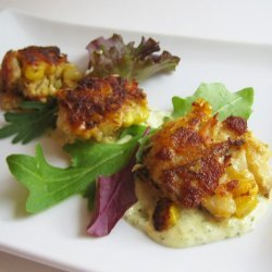 Crab Cakes With Corn