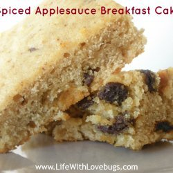 Spiced Applesauce Cake