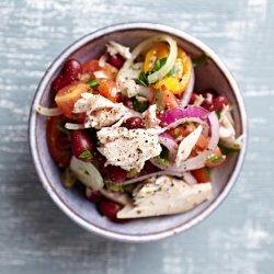 Veggie Salad With Tuna