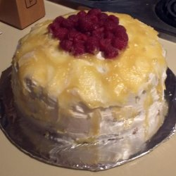 Cheesecake-Stuffed Lemon Cake