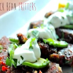 Black Bean Fritters