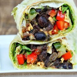Vegan Spinach Wrap
