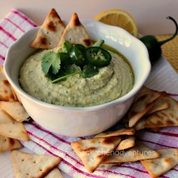 Jalapeno and Cilantro Hummus