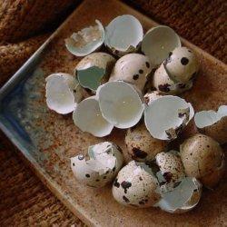 Quail Eggs With Celery Salt recipe