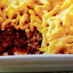 Sloppy Joe Mac and Cheese