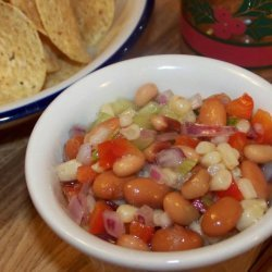 Holiday Party Bean Salsa recipe