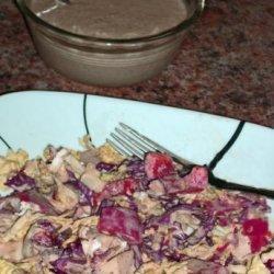 Lime Tahini Salad Dressing