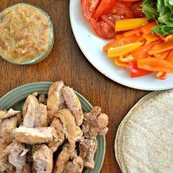 Chicken-Veggie Wrap