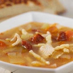 Chicken Tomato Pasta Soup