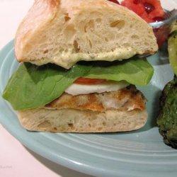 Tuscan-Style Grilled Chicken Sandwich