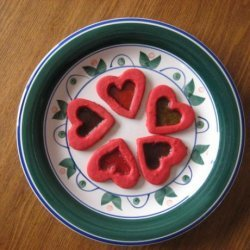 Valentine Stained Glass Cookies