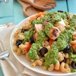 Pesto Pasta Salad W/ Veggies