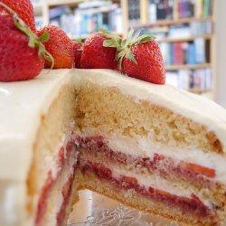 Layered Strawberry Dessert