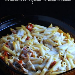 Pasta Alfredo With Sun-Dried Tomatoes