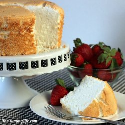 Heavenly Angel Cake