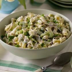 Minted Peas and Pasta Salad