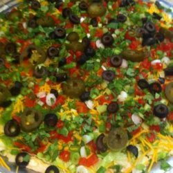 Kelly's Awesome Taco Dip
