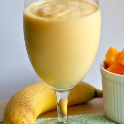 Mango-Pineapple-Banana-Orange Smoothie