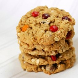Whole Wheat Oatmeal Cookies