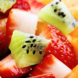 Fresh Fruit with Honey, Mint, and Lime