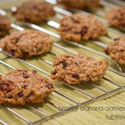 Sugar-Free Oatmeal Banana Cookies