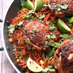 Mexican Chicken and Rice (One Pot)