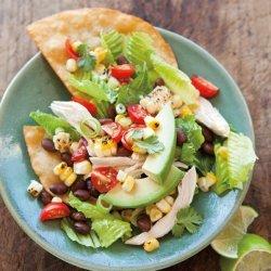 Chicken Tostada Salad