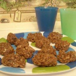 Chocolate Oatmeal Cookies (No Bakes)