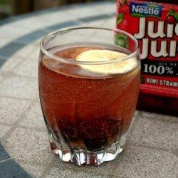 Strawberry-Kiwi Soda (All Natural)