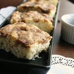 Apple Cinnamon Buttermilk Cake
