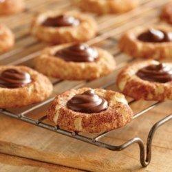 Chocolate Hazelnut Snickerdoodle Cookies recipe