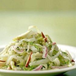 Cabbage & Green Apple Slaw