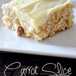 Apricot and Almond Slice