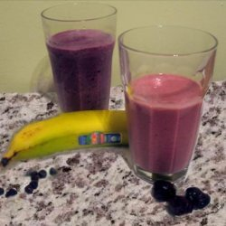 Blueberry or Cherry/Banana   best for You  Smoothie
