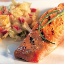 Grilled Sesame Salmon