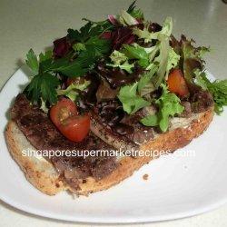 Quick Steak Sandwich