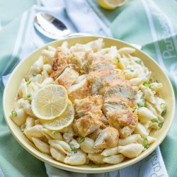 Garlic Chicken Pasta